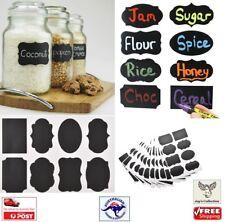 8pcs Blackboard Chalkboard Stickers Craft Kitchen Jars Organizer Labels [A8Z~A1]