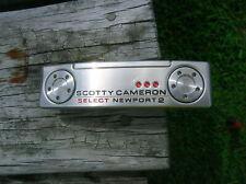 """Titleist Scotty Cameron 2020 Select Newport 2 35"""" Putter w/HC Winn NTP Midsize"""