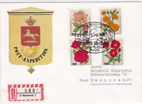 Germany Hanover 1983   Bahnpost railway stamps cover ref r20137