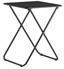 Habitat Airo Foldable Metal 2 Seater Dining Table - Black