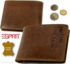 ESPRIT Herren Brieftasche Geldtasche Geldbörse Portemonnaie Geldbeutel 656 miles
