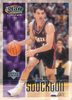 John Stockton 2001-02 UD Playmakers Limited Utah Jazz Card Upper Deck #96