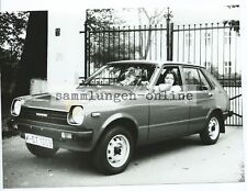 TOYOTA STARLET WITH WOMAN IN THE Car Automotive Photography Photo Photographer