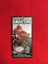 "2005 Gatorade X-factor Sidney Crosby card   3""x6""  Penguins  Team Canada"