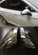 Audi A5 S5 Rs5 Matt Chrome Replacement Wing Mirror Covers 2016 2017 F5 OEM-fit