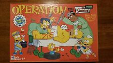 THE SIMPSONS EDITION OPERATION SKILL GAME INCOMPLETE MISSING ONE PEICE