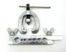 New Tubing Pipe Flaring Dies Tools Kit 3/16-5/8 Flare Tubing Air Brake Line Nice
