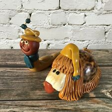 More details for the magic roundabout serge danot fimo & shell figures dougal & brian damaged