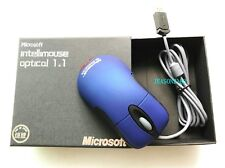 Microsoft l IntelliMouse Optical Io1.1/6000 frame IPS PhoToelectric Mouse Blue's