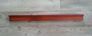 Pottery Barn Wood WOODEN FLOATING SHELF 3 ft LONG