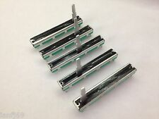 5 x DYNACORD POWERMATE PM600 - 1000 - 1600 replacement MONO channel faders