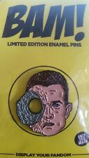 Exclusive Bam Box TERMINATOR Limited, only 250 Enamel Pin byNick Cocozza Sci Fi