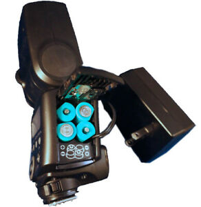 AA Battery Eliminator -AC Power Adapter for Speedlight Flash 4x AA - Photo Booth