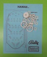 1973 Bally Hawaii pinball / bingo rubber ring kit