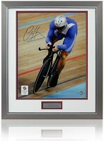 """Official SIR CHRIS HOY Hand Signed London 2012 Olympics 20x16"""" Numbered Photo"""