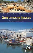 GRIECHISCHE INSELN Michael Müller Reiseführer 07 Kykladen Kreta Ionische NEU