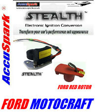 Ford Capri 3.0 GT V6 AccuSpark® Stealth Electronic ignition+free red rotor k18