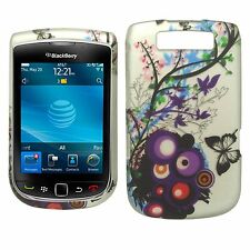For BlackBerry Torch 9800 HARD Protector Case Snap On Phone Cover Spring Blossom