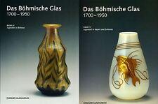 Fachbuchpaket Böhmisches Jugendstil Glas, Riedel Moser 2 Bände Böhmen Bayern NEU
