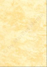 Marmorpapier A4 90g / m² 100 Blatt gelb