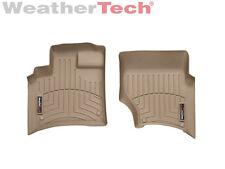 WeatherTech FloorLiner - Audi Q7 - 2007-2015 - 1st Row - Tan