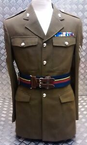 Genuine British Royal Navy royal Marines RM Stable / Military Belt - All Sizes