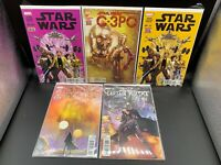 Marvel Comics Star Wars Lot Of 5 Comic Books (Bonus Digital Edition)