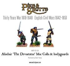"Warlord Pike & Shotte - Alisdair ""The Devastator"" Mac Colla & Bodyguards 28mm"