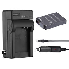 EN-EL12 Battery + Charger for Nikon Coolpix AW100 AW110  P300 S6000 S6100 S70