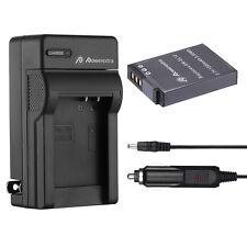 EN-EL12 Battery + Charger for Nikon Coolpix P300 S6000 S6100 S70 S8100 S9500