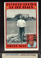 1972 Topps #342 Wilbur Wood Boyhood Photo Chicago White Sox Baseball Card EX+