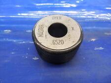 6520 Class X Master Plain Bore Ring Gage 6563 0043 Undersize 2132 16561 Mm