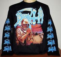 Death Leprosy Long Sleeve T-Shirt Size S M L XL 2XL 3XL Metal Band Grindcore New