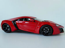 Fast and Furious 7 W Motors Lykan hypersport 1/18 jada Toys 97388 red & Movie