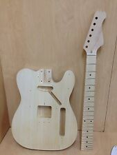 4/4 E-2180DIY TE Style Electric Guitar DIY Kits,Set Neck,Complete No-Soldering
