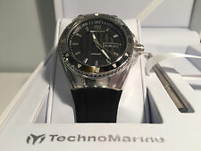 New - Watch Watch TECHNOMARINE Cruise Black 40 mm Ref. 110042 - Box & Papers