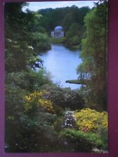 POSTCARD WILTSHIRE STOURHEAD - THE PANTHEON VIEWED ACROSS THE LAKE