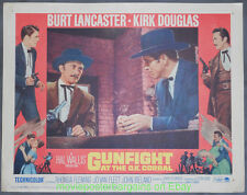 GUNFIGHT AT THE O.K. CORRAL Re-Release 1964 LOBBY CARD #2 BURT LANCASTER