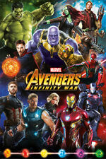 AVENGERS POSTER INFINITY WAR ALL CHARACTERS