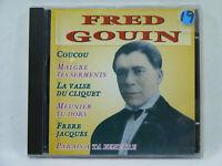 Fred Gouin - Malgré tes serments CD Chanson Française vintage 30's 40's 50's