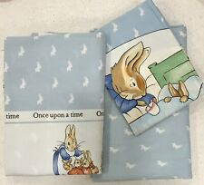 Beatrix Potter Peter Rabbit Twin Percale Sheet Set 🥕 Child Room Nursery Perfect
