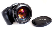 NIKON NIKKOR 55mm f1.2 - 1972 - AI CONVERTED - MINTY!