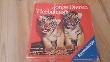 Jonge Dieren Tierbabies Ravensburger Lotto Spiel von 1969, komplett, bitte lesen