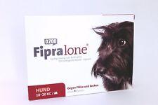 FIPRALONE (Fiproline) 134 mg de taille moyenne Chiens Vét. 4 pièces PZN 11360753