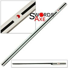 Wooden Japanese Anime Ninja Samurai Katana Sword White Cosplay Replica Lead-free