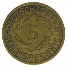 Deutsches Reich 5 Pfennig 1926 F A50267