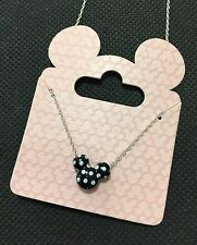Disney Mickey Mouse Black&White Pendant Girls Women's Necklace BNWT Super Cute