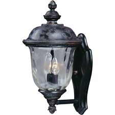 Maxim Carriage House DC 2-Light Outdoor Wall Lantern Bronze - 3422WGOB