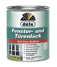 düfa Fenster- und Türenlack 2,5 Liter 3in1 Profi Glanz-Weißlack innen außen