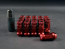 Muteki SR48 Lug Nuts Open End Red Civic Integra RSX Prelude Accord TSX TL
